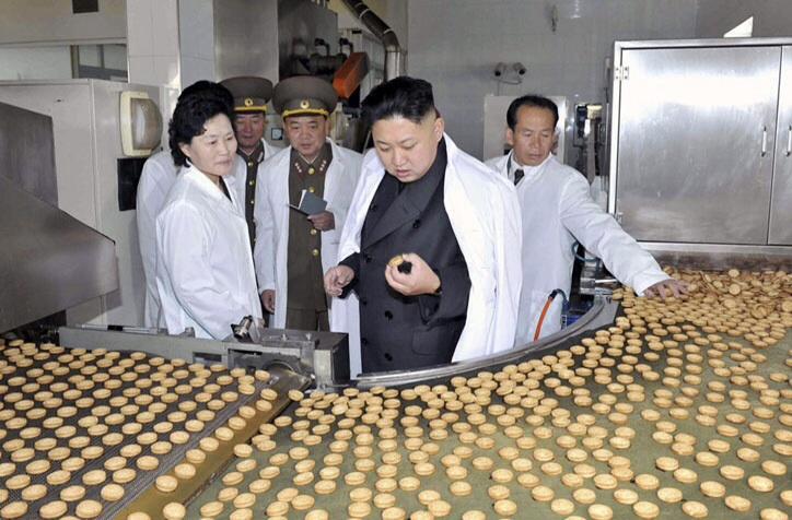 Ким Чен Ин прибыл с инспекцией