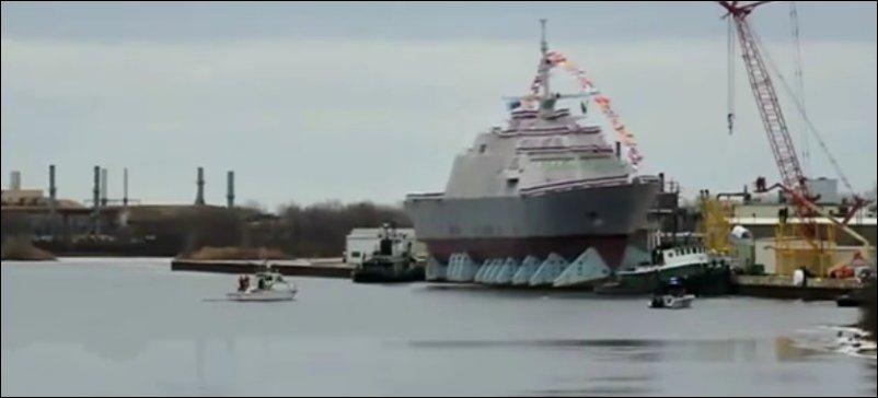 Как корабли спускают на воду