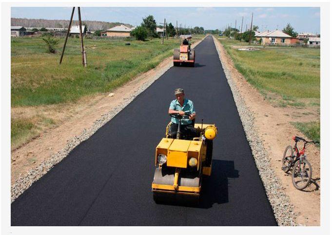 Построил дорогу к деревне на наследство от бабушки