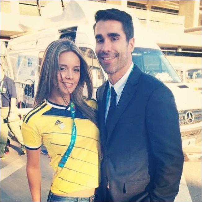 Самые красивые журналистки с чемпионата мира по футболу 2014