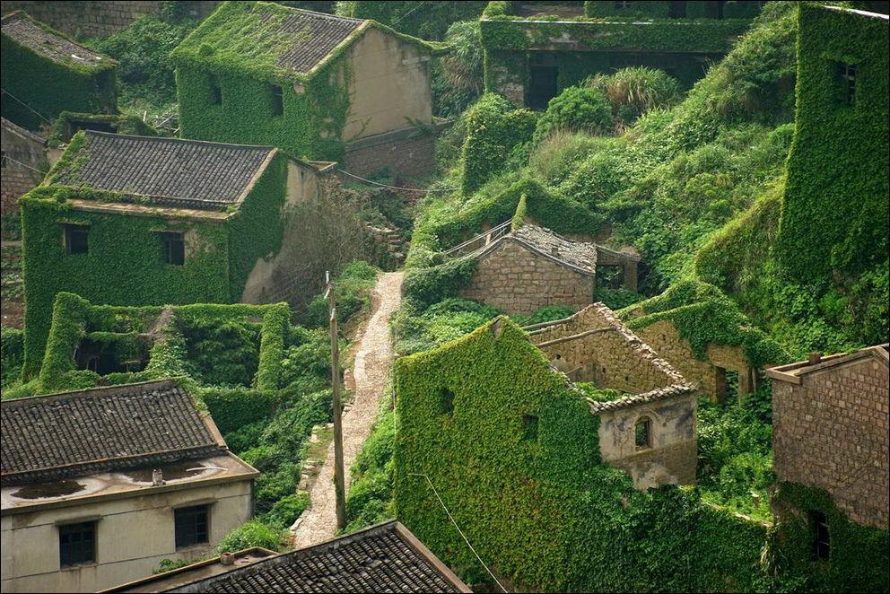 Заброшеная деревня в Китае