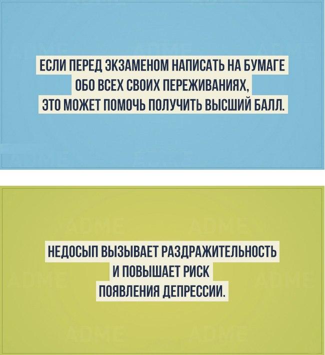 Факты о человеке