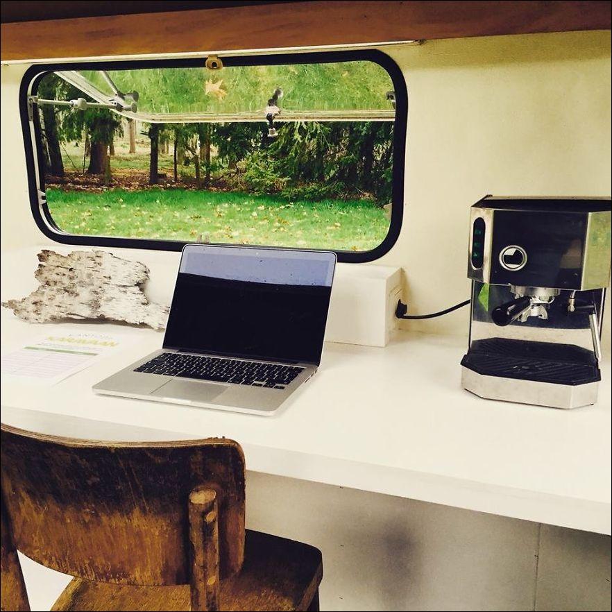 Мобильный офис своими руками