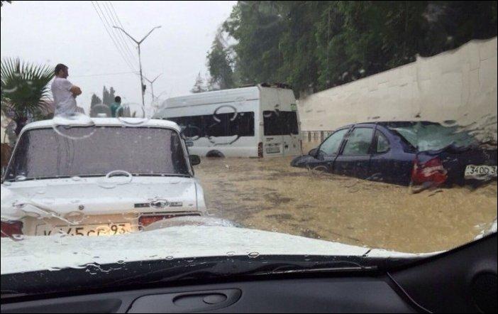 Потоп в Сочи