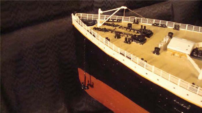 Титаник своими руками из бумаги