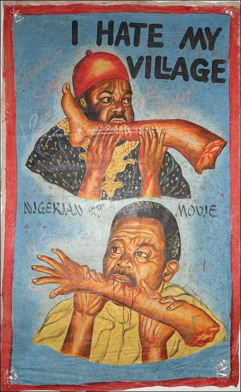 Африканские афиши голливудских фильмов