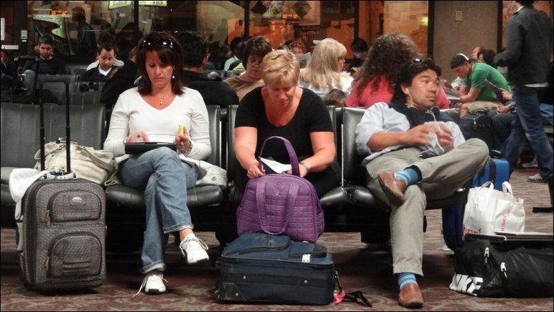 Розетки в аэропортах