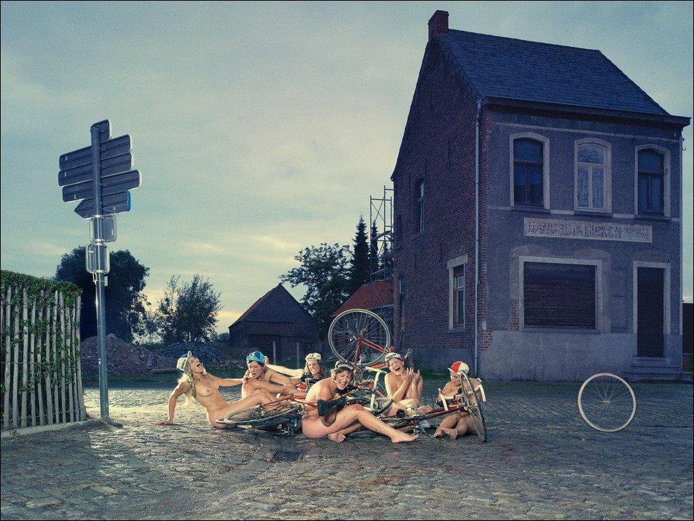 Интересные фотоработы Frieke Janssens