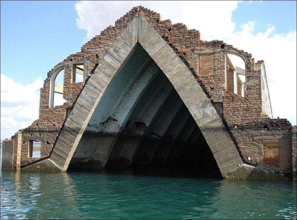 Затопленные церкви