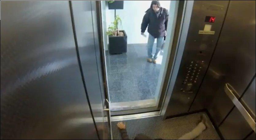 Розыгрыш - Убийство в лифте