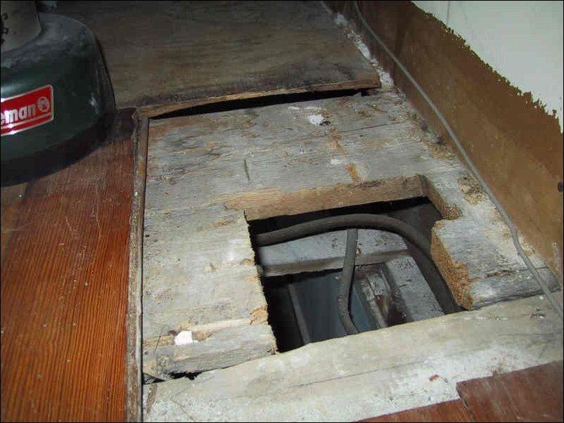 Клад под старым шкафом