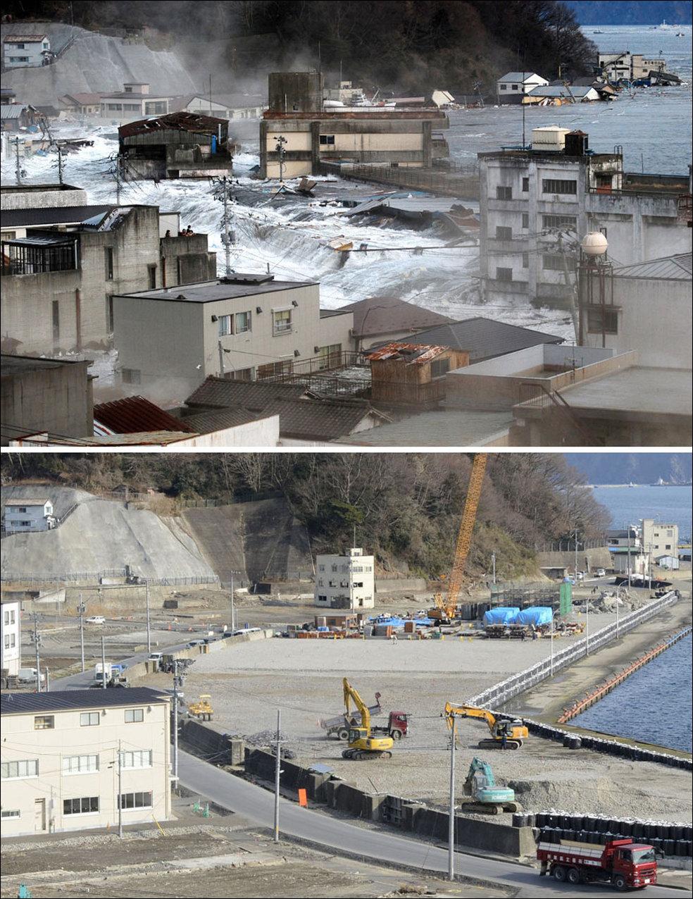 фото спустя лет цунами япония аромат духов