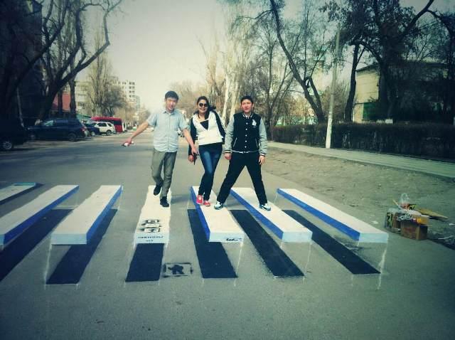 3D зебры в Бишкеке