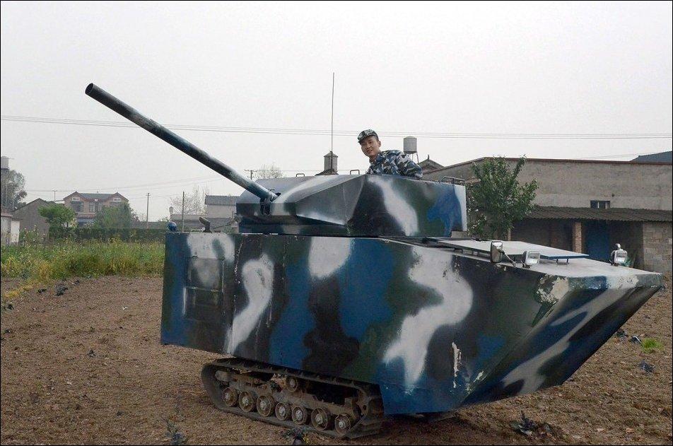 Самодельный танк