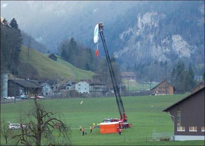 Драма в Альпах