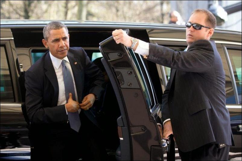 Броневичок Обамы