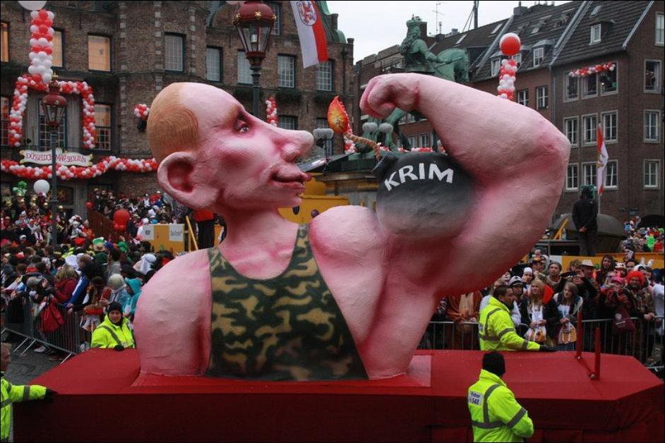 Карнавал в Дюссельдорфе