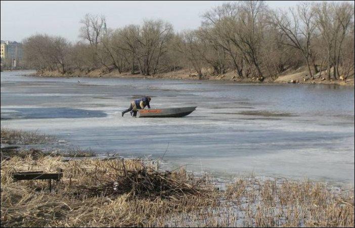 Уплыть на льдине из Тамбова