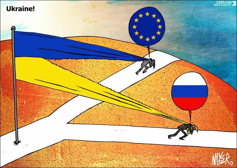 карикатуры про Крым и политику