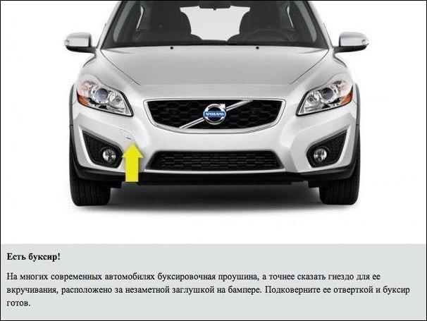 Секреты вашего автомобиля