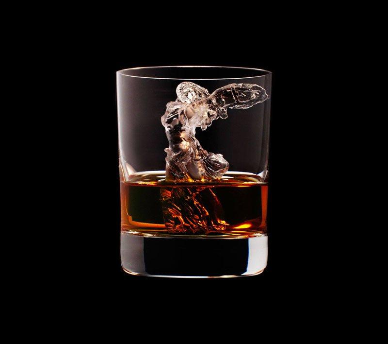 Ледяные скульптуры для виски
