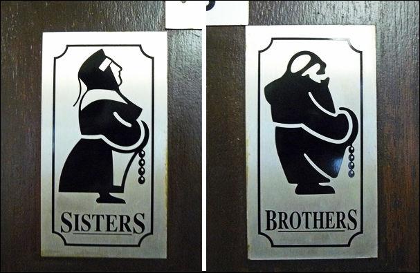 Таблички на туалете