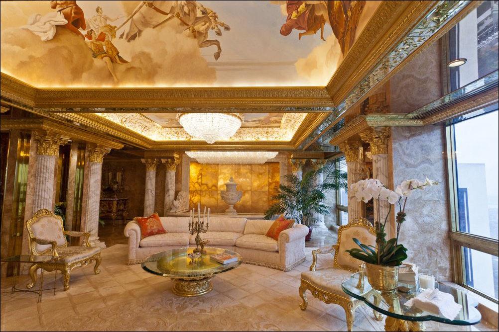фото дома в котором живет дональд трамп нужен