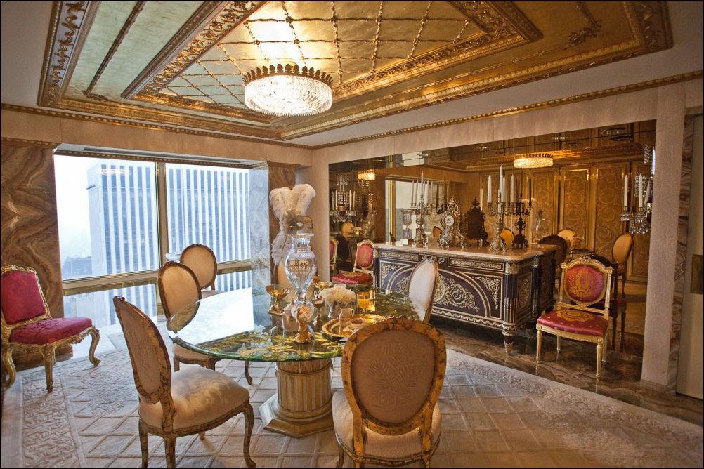 Квартира Дональда Трампа