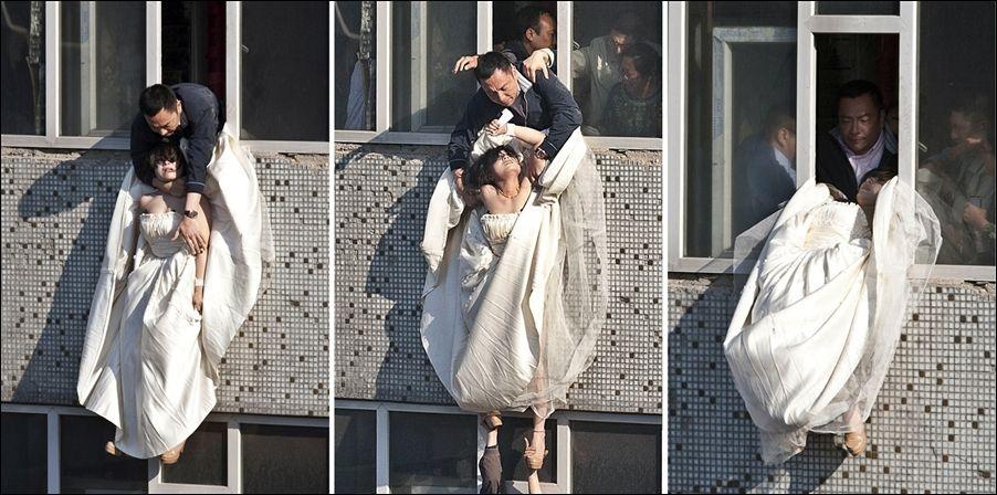 Свадебная драма (5 фото)   Прикол.ру — приколы, картинки ... Ссора с Парнем