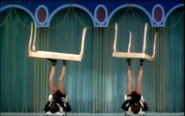 Жонглирование столами