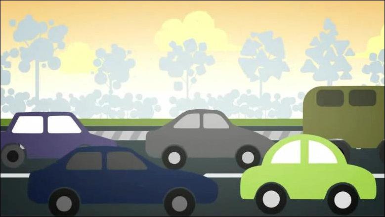 Мультик про автомобили