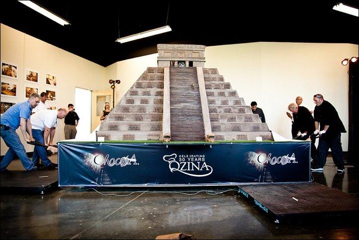 Шоколадная пирамида