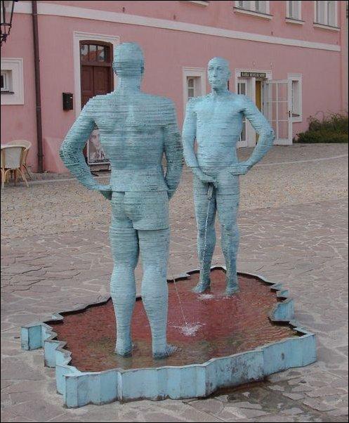Самые странные фонтаны