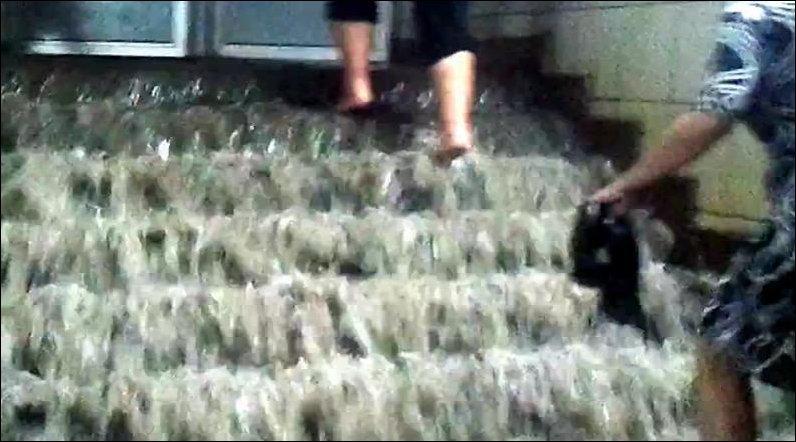 Киевское метро затопило