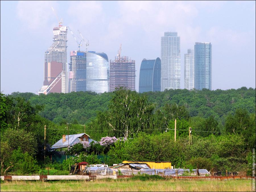 Москва - город контрастов
