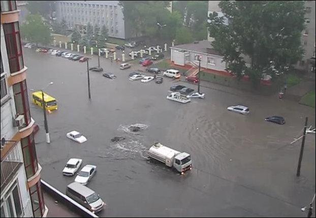 Наводнение в Одессе 24 мая 2012