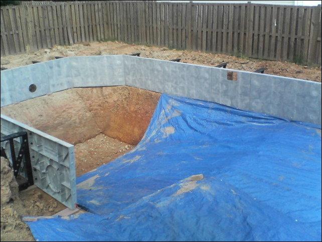 как сделать мини бассейн: