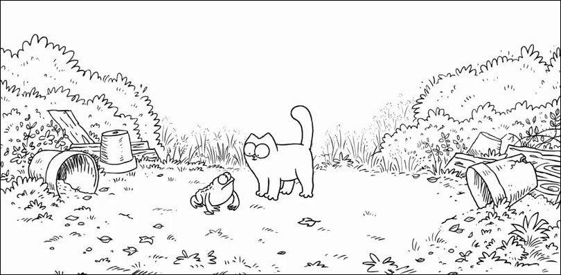 Фотки саймона кота