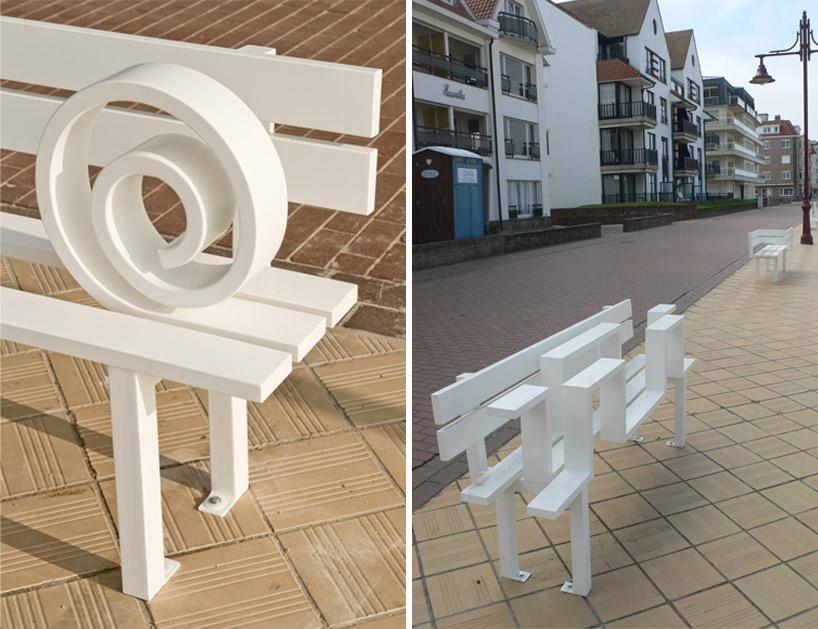 Скамейки бывают разные