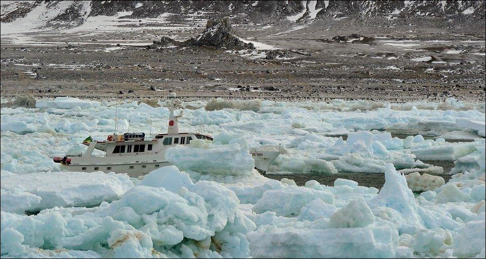 Затеряный во льдах
