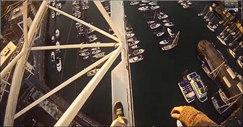 Прогулка по башенному крану