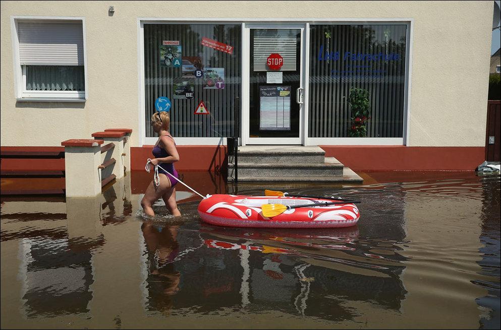 Смешная картинка потоп