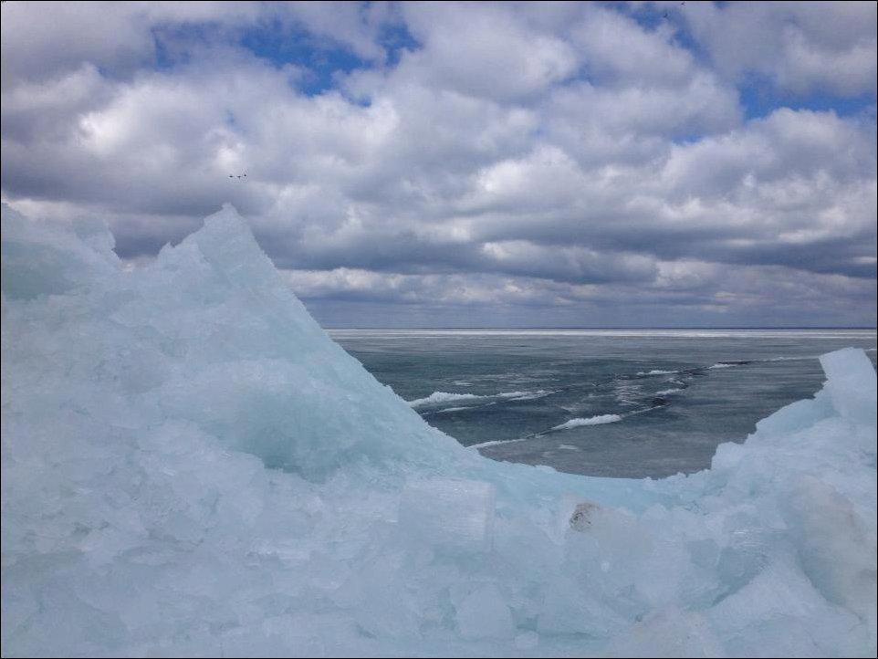 Ползущий лед