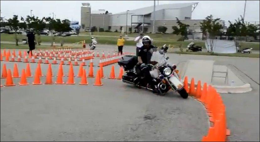 Экзамен на вождение мотоцикла