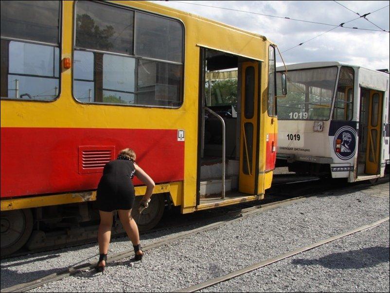 Барнаульская вагоновожатая