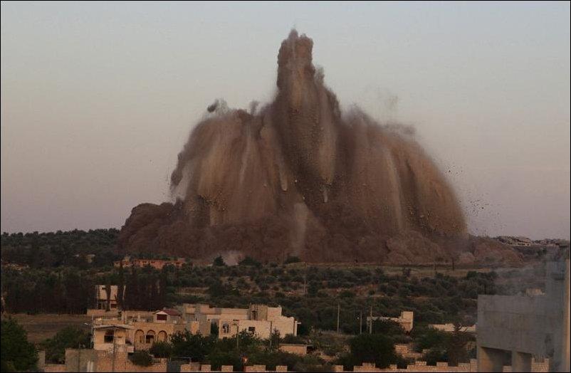 60 тонн взрывчатки