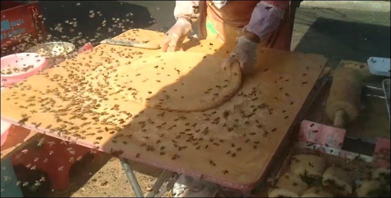 Китайский фастфуд с пчелами