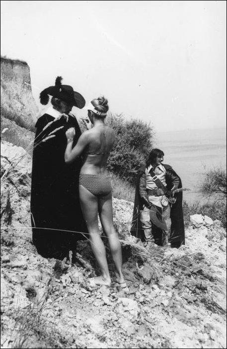 Фото со съемок трех мушкетеров