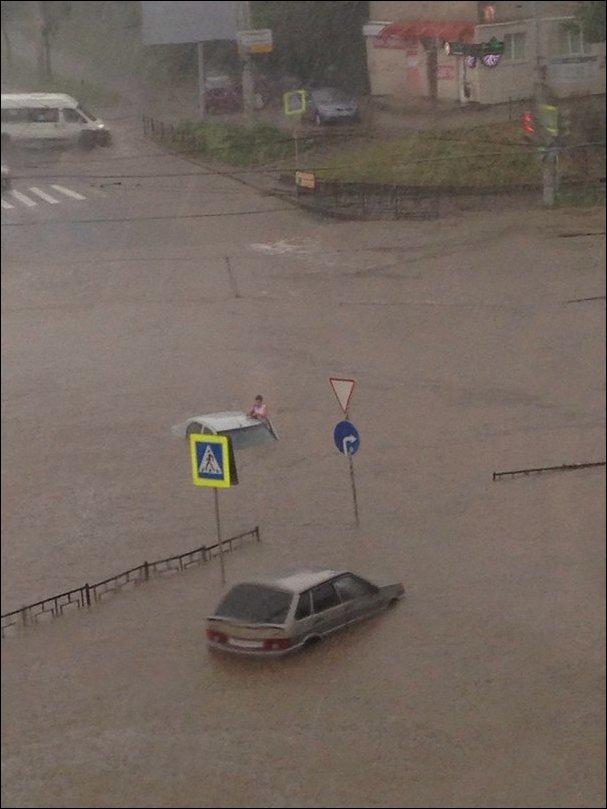 Наводнение в Смоленске