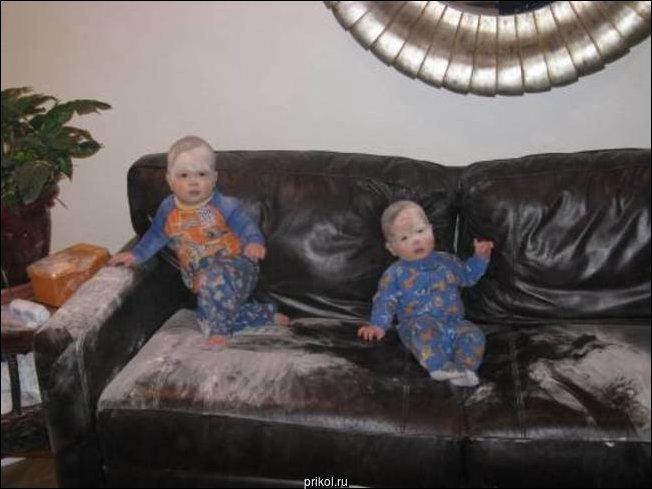 Когда дети остались без присмотра